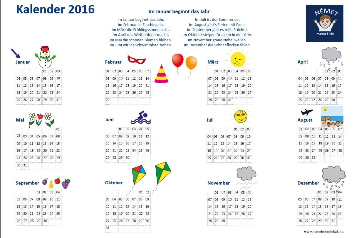 Hu Kalender